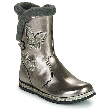 Shoes Girl Boots Chicco CAMPANELLA Silver