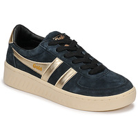 Shoes Women Low top trainers Gola GRANDSLAM PEARL Black / Gold