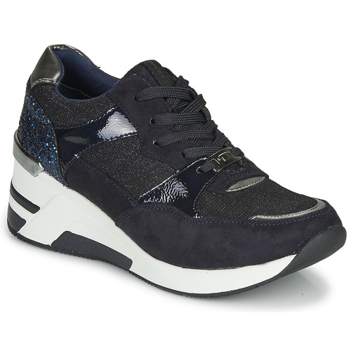 Shoes Women Low top trainers Tom Tailor 92610-BLEU Blue