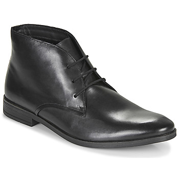 Shoes Men Mid boots Clarks STANFORD LO Black