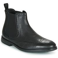 Shoes Men Mid boots Clarks RONNIE TOP Black