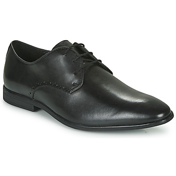 Shoes Men Derby shoes Clarks BAMPTON PARK Black