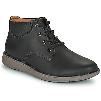 Shoes Men Derby shoes Clarks UN LARVIK TOP2 Black