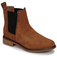 Shoes Women Mid boots Clarks CLARKDALE ARLO Camel
