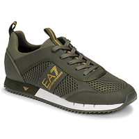 Shoes Men Low top trainers Emporio Armani EA7 XK050 Kaki