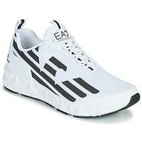 Shoes Men Low top trainers Emporio Armani EA7 XCC52 White / Black