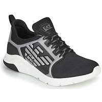Shoes Men Low top trainers Emporio Armani EA7 XCC55 Black