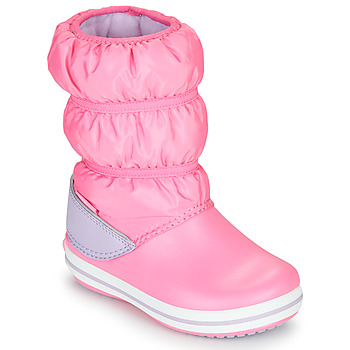 Shoes Girl Snow boots Crocs CROCBAND WINTER BOOT K Pink