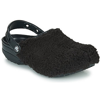 Shoes Clogs Crocs CLASSIC FUZZ MANIA CLOG Black