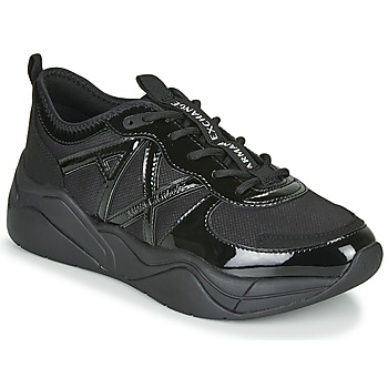 Shoes Women Low top trainers Armani Exchange BALDA Black