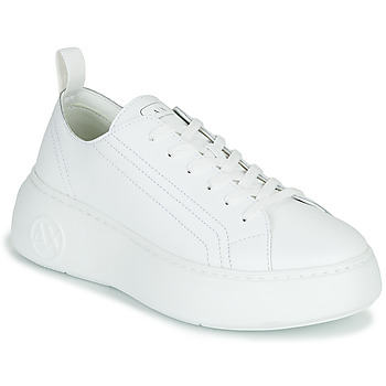 Shoes Women Low top trainers Armani Exchange PROMNA White