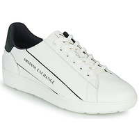 Shoes Men Low top trainers Armani Exchange  White