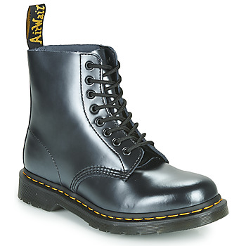 Shoes Women Mid boots Dr Martens 1460 PASCAL Silver