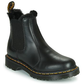 Shoes Women Mid boots Dr Martens 2976 LEONORE Black