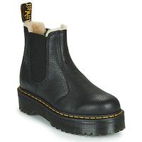 Shoes Women Mid boots Dr Martens 2976 QUAD FL Black