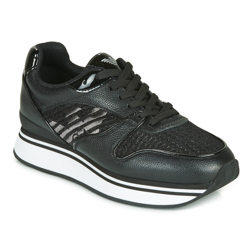 Shoes Women Low top trainers Emporio Armani X3X046-XM547 Black