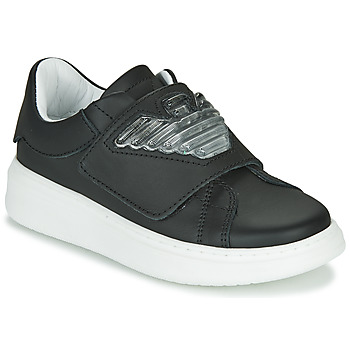 Shoes Children Low top trainers Emporio Armani XYX014-XOI08 Black