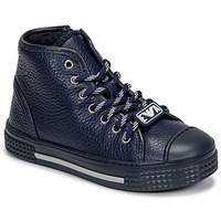 Shoes Children High top trainers Emporio Armani  Marine