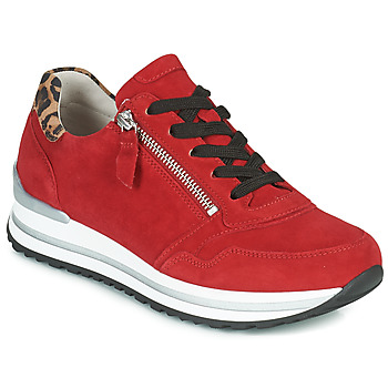 Shoes Women Low top trainers Gabor  Red
