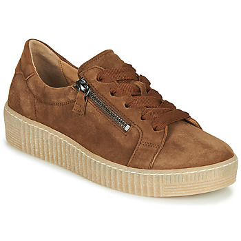 Shoes Women Low top trainers Gabor 5333412 Camel