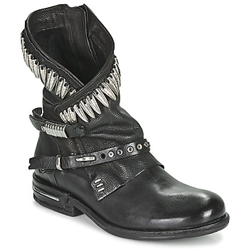 Shoes Women Mid boots Airstep / A.S.98 TIAL FOGLIE Black