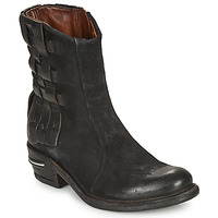Shoes Women Mid boots Airstep / A.S.98 IGNIX 2 Black