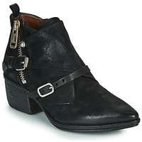Shoes Women Ankle boots Airstep / A.S.98 PARADE BUCKLE Black
