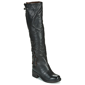 Shoes Women Boots Airstep / A.S.98 NOVA 17 HIGH Black