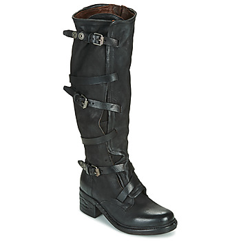 Shoes Women Boots Airstep / A.S.98 NOVA 17 BUCKLE Black