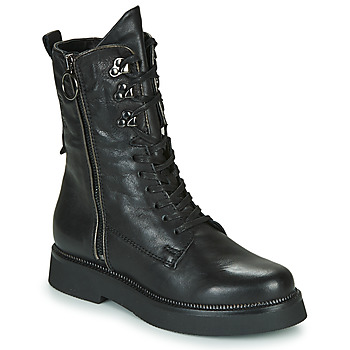 Shoes Women Mid boots Mjus TRIPLE ZIP Black