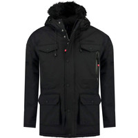 material Boy Parkas Geographical Norway ALCALINE BOY Black