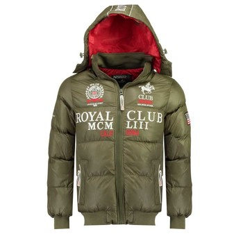 material Boy Duffel coats Geographical Norway AVALANCHE BOY Kaki