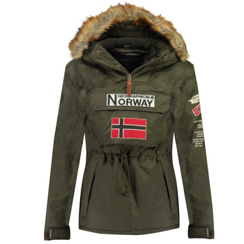 material Boy Parkas Geographical Norway BARMAN BOY Kaki