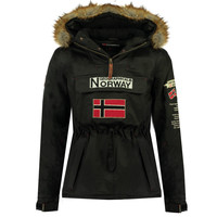 material Boy Parkas Geographical Norway BARMAN BOY Black