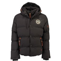 material Boy Duffel coats Geographical Norway VERVEINE BOY Grey