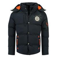 material Boy Duffel coats Geographical Norway VERVEINE BOY Marine