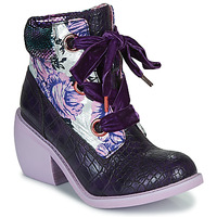 Shoes Women Mid boots Irregular Choice SCARPER Violet