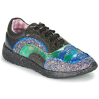 Shoes Women Low top trainers Irregular Choice JIGSAW Black