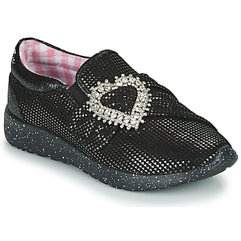 Shoes Women Low top trainers Irregular Choice TWO SHAKES Black