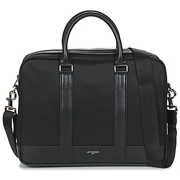 Bags Men Briefcases Le Tanneur GASPARD Black