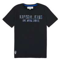 material Boy short-sleeved t-shirts Kaporal OBRAG Black