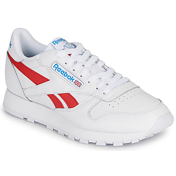 Shoes Low top trainers Reebok Classic CL LTHR White / Red