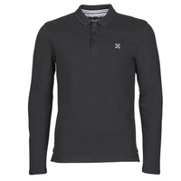 material Men long-sleeved polo shirts Oxbow M2NIROS Black