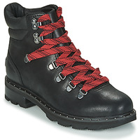 Shoes Women Mid boots Sorel LENNOX HIKER Black