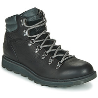 Shoes Men Mid boots Sorel MADSON HIKER II WP Black