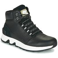 Shoes Men High top trainers Sorel MAC HILL MID LTR WP Black