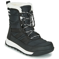 Shoes Children Mid boots Sorel YOUTH WHITNEY II SHORT LACE Black