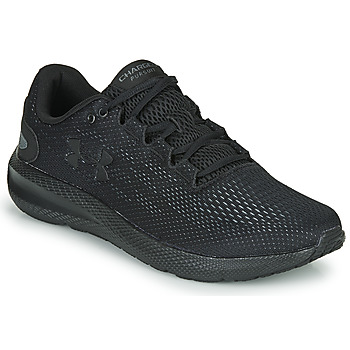 Shoes Men Running shoes Under Armour CHARGED PURSUIT Black / Black
