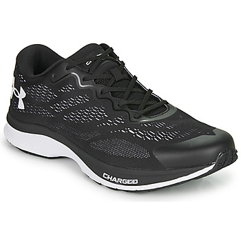 Shoes Men Running shoes Under Armour BANDIT 6 Black / Grey / White