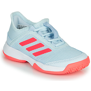 Shoes Children Tennis shoes adidas Performance ADIZERO CLUB K Blue / Pink